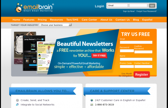 Emailbrain Smart Email Marketing