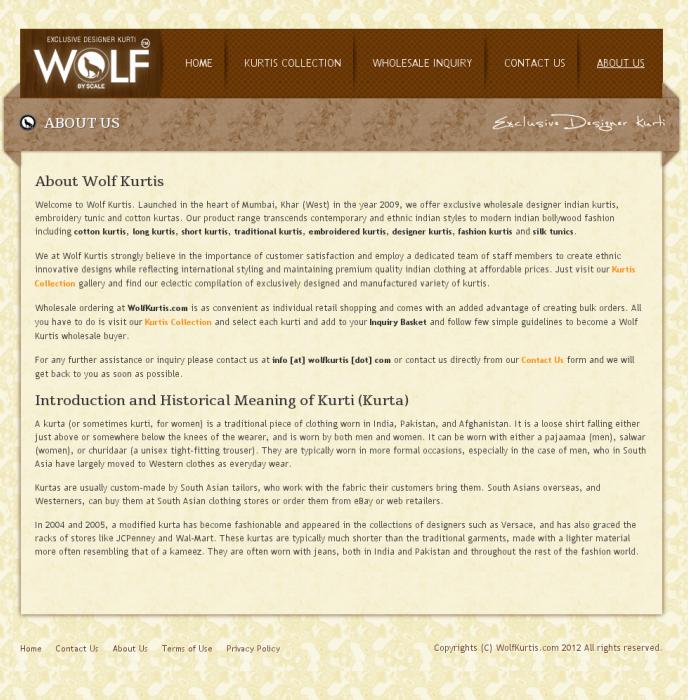 Wolf Kurtis