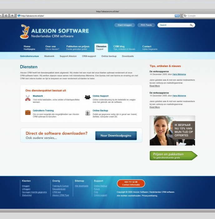 Alexion CRM Software