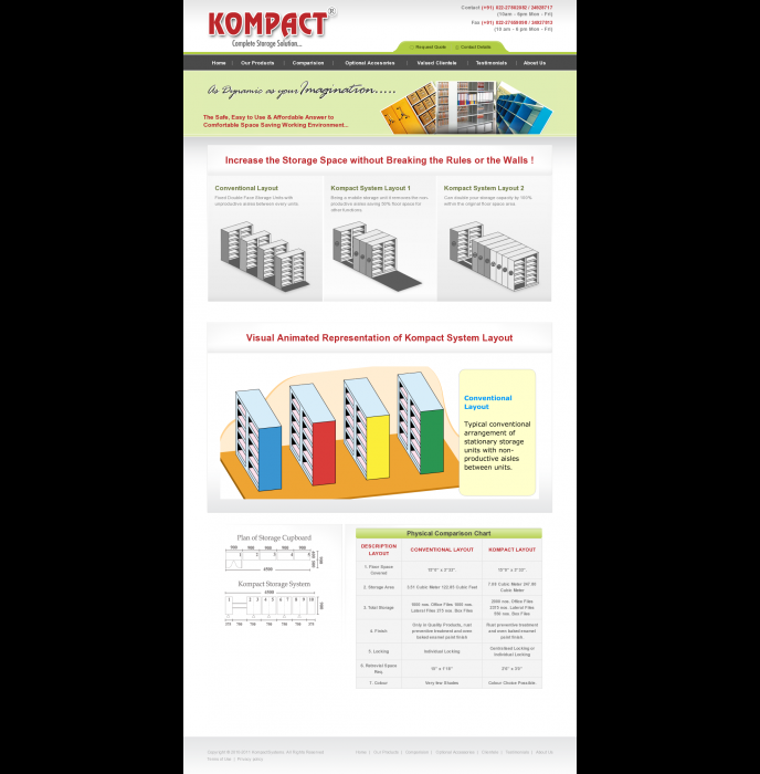 Kompact Systems - Complete Storage Solutions