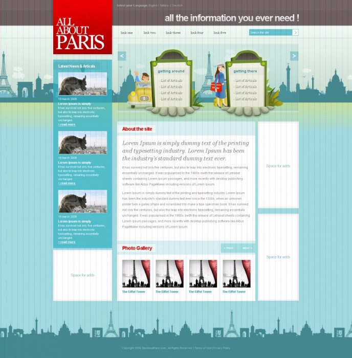 All About Paris