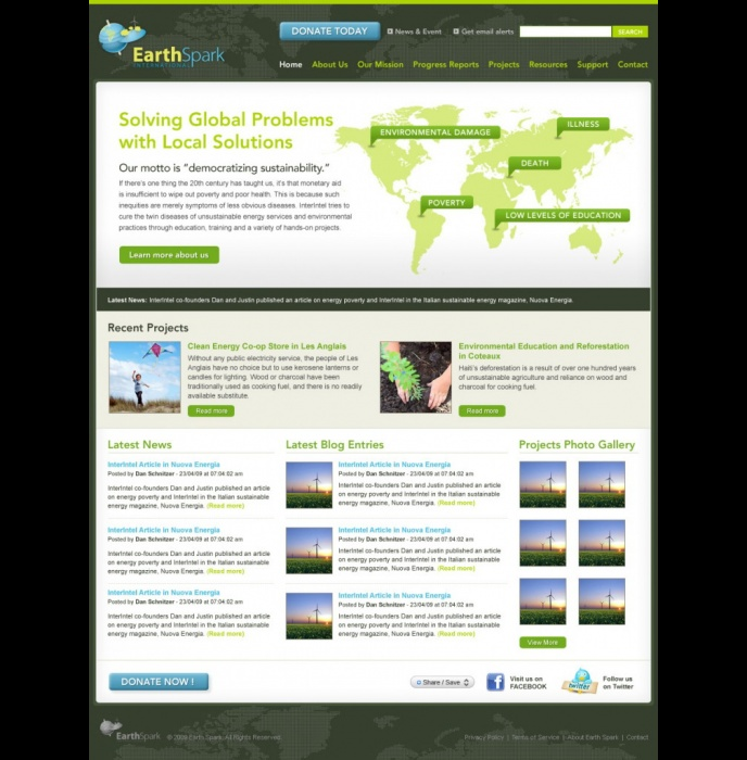 Earthspark Mockup
