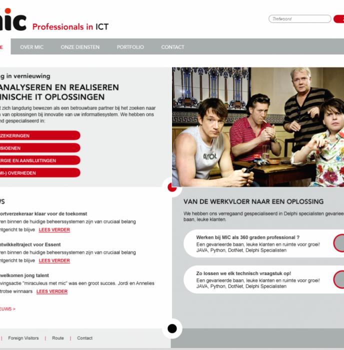 MIC Professionals in ICT