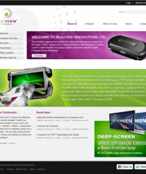 Realview Innovations, The V-Screen is RealView Innovations